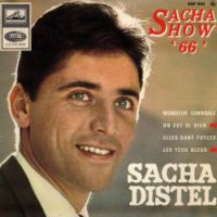 Cover Sacha Distel - Monsieur Cannibale