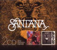 Cover Santana - 2CD: Santana / Abraxas