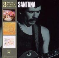 Cover Santana - 3 Original Album Classics