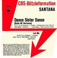 Cover Santana - Dance Sister Dance (Baila mi hermana)