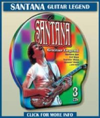 Cover Santana - Guitar Legend (Metall Box)