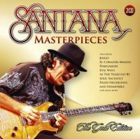 Cover Santana - Masterpieces - The Gold Edition