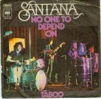 Cover Santana - No One To Depend On