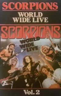 Cover Scorpions - World Wide Live