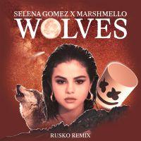 Cover Selena Gomez x Marshmello - Wolves