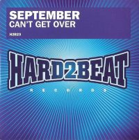 Cover September - Can't Get Over