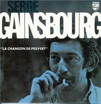 Cover Serge Gainsbourg - La chanson de Prévert