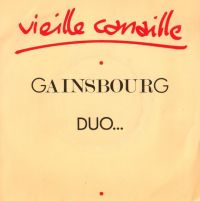 Cover Serge Gainsbourg & Eddy Mitchell - Vieille canaille
