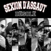 Cover Sexion d'Assaut - Désolé