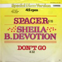 Cover Sheila & B. Devotion - Spacer