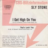Cover Sly Stone - I Get High On You