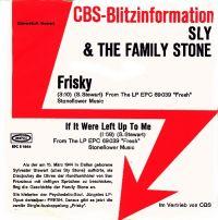 Cover Sly & The Family Stone - Frisky