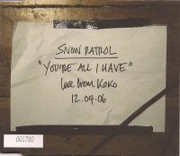 Cover Snow Patrol - You're All I Have