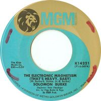 Cover Solomon Burke - The Electronic Magnetism (That's Heavy, Baby)