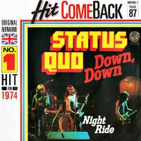 Cover Status Quo - Down, Down