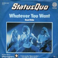 Cover Status Quo - Whatever You Want