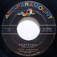 Cover Steve Lawrence - Footsteps