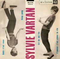Cover Sylvie Vartan - Baby c'est vous