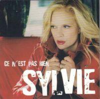 Cover Sylvie Vartan - Ce n'est pas rien
