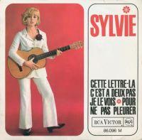 Cover Sylvie Vartan - Cette lettre-là