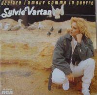 Cover Sylvie Vartan - Déclare l'amour comme la guerre
