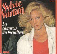 Cover Sylvie Vartan - La chanson au brouillon