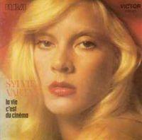 Cover Sylvie Vartan - La vie c'est du cinéma