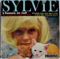 Cover Sylvie Vartan - L'homme en noir