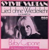 Cover Sylvie Vartan - Lied ohne Wiederkehr