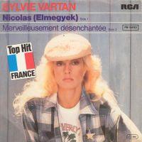 Cover Sylvie Vartan - Nicolas