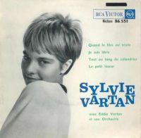 Cover Sylvie Vartan - Quand le film est triste