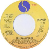 Cover Talking Heads - Once In A Lifetime