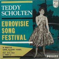 Cover Teddy Scholten - 'n Beetje