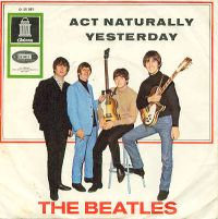 Cover The Beatles - Act Naturally