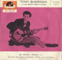 Cover The Beatles with Tony Sheridan - My Bonnie