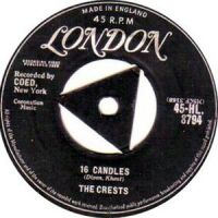 Cover The Crests - 16 Candles