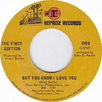 Cover The First Edition - But You Know I Love You
