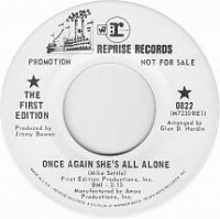 Cover The First Edition - Once Again She's All Alone