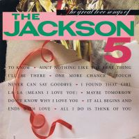 Cover The Jackson 5 - The Great Love Songs