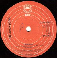 Cover The Jacksons - Destiny