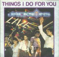 Cover The Jacksons - Things I Do For You (Live)
