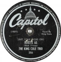 Cover The King Cole Trio - (Get Your Kicks On) Route 66