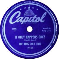 Cover The King Cole Trio - It Only Happens Once