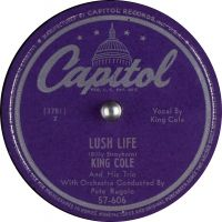 Cover The King Cole Trio - Lush Life