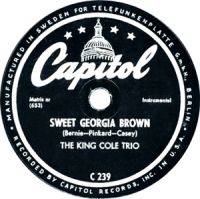 Cover The King Cole Trio - Sweet Georgia Brown