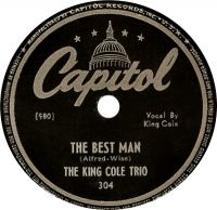 Cover The King Cole Trio - The Best Man