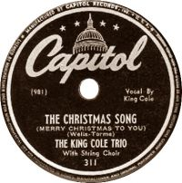 Cover The King Cole Trio - The Christmas Song (Merry Christmas To You)