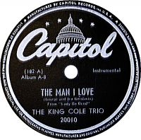 Cover The King Cole Trio - The Man I Love