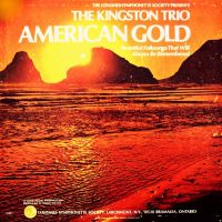 Cover The Kingston Trio - American Gold