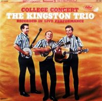 Cover The Kingston Trio - College Concert